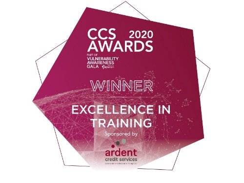 Image of CCS award - Excellence in training 2020